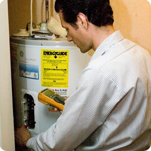 we do full water heater installation service